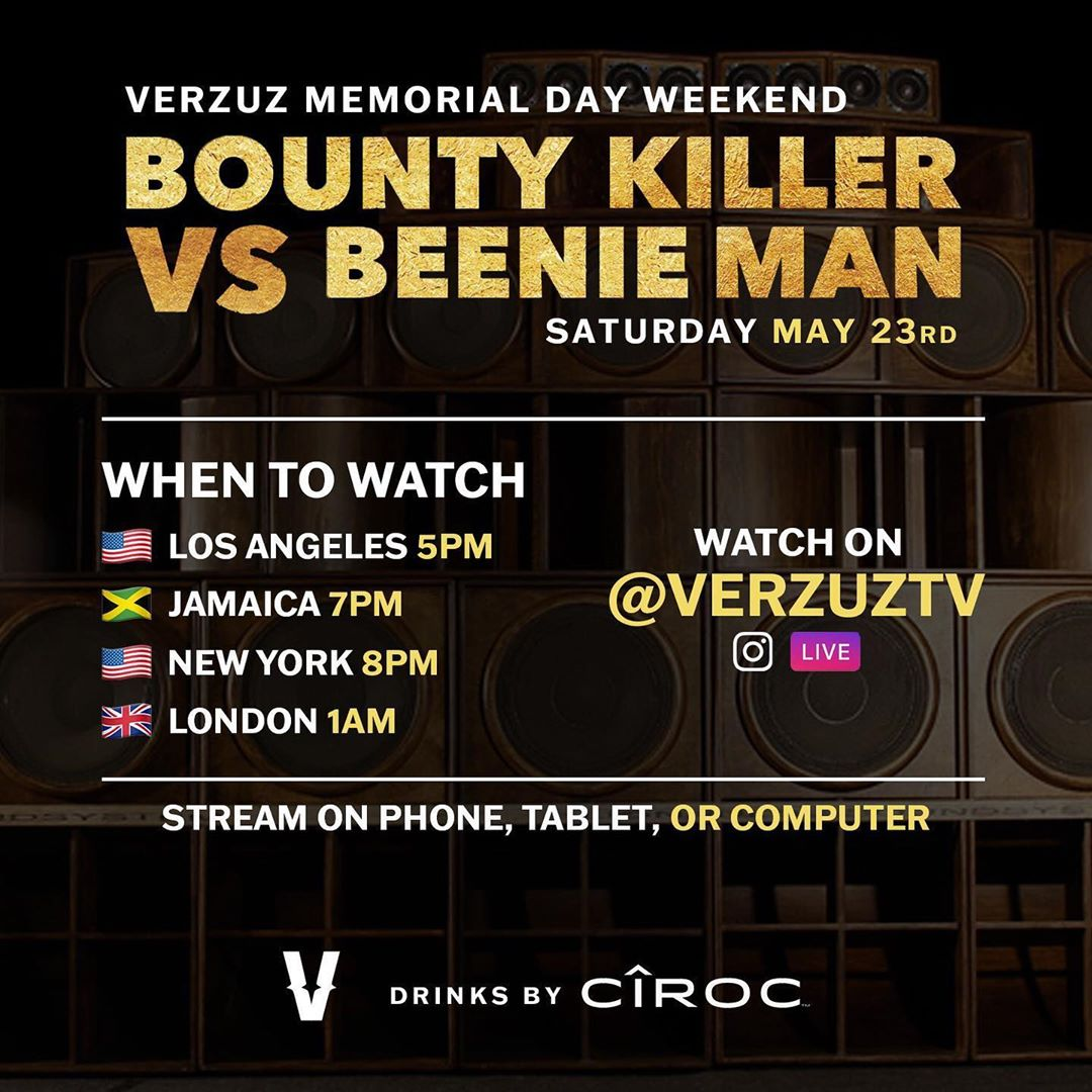 Verzuz TV Set Times | showfomo - livestreams not to miss